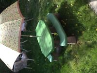 Step 2 kids picnic table with umbrella