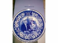 To celebrate the marriage of Charles and Camilla Wedgwoood plate COLLECTORS ITEM ONLY £25.00