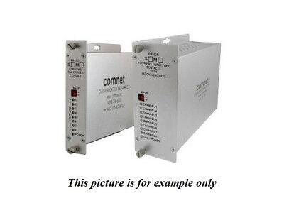 Comnet FDC80TS1 SM 1Fiber 8 Channel Contact Closure Transmitter