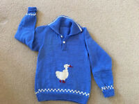 Handmade boy's jumpers - 5-6 years old