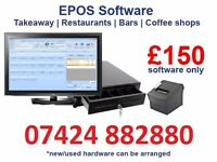 epos software - takeaway, restaurant, bars, coffee shops