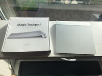 Apple Magic Trackpad with box open to offers