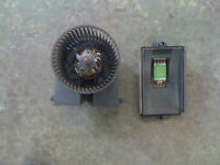 MOTEUR DE CHAUFRETTE / FAN BLOWER VOLKS GOLF / JETTA MK4 2000 A