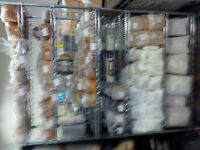 Bulk Food Packaged, Pet toys, B.B.Q,  Clear Out Sale!
