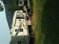 RV lot for rent in Greenwood BC