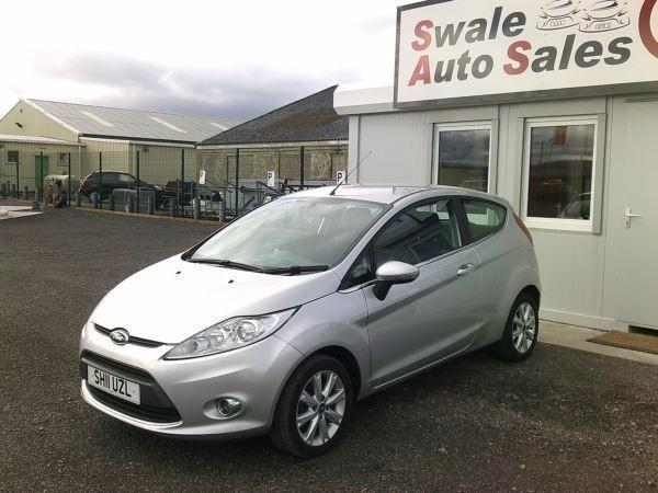 2011 FORD FIESTA ZETEC 1.4L ONLY 77,265 MILES, FULL SERVICE HISTORY
