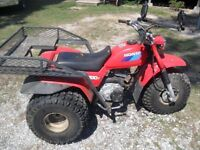 1985 Honda 3 Wheeler 200 mint condition