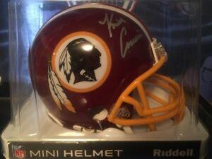 Kirk Cousins signed/ autograph mini helmet