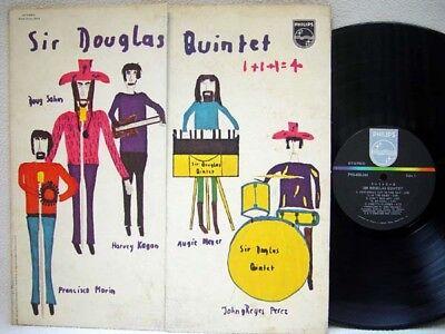 SIR DOUGLAS QUINTET - 1+1+1=4 LP (1st US Pressing on PHILIPS w/