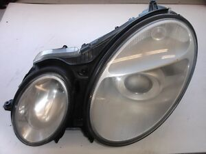 MERCEDES BENZ E500 E350 2003-2007 HEADLIGHT ASSEMBLY LEFT