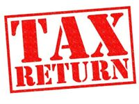 Tax Return submission - £75 per return - Haddington/Edinburgh and Dunfermline