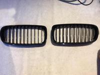 BMW 3 series black front grills F30-F31
