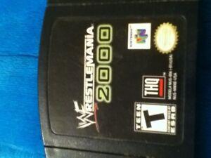 N64 Wrestlemania 2000 game