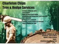 Charleton Chips Ltd tree services and green waste recycling working with Charleton fencing