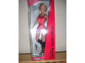 Kylie doll 'World Music Awards' poseable figure.