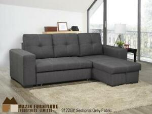 $$$BIG SUMMER SALE-brand new Space Saver SECTIONAL Sofa w/ storage (REVERSIBLE)