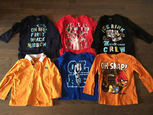 Boys 2T long sleeve shirts- 6 for $12