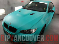 Spray Vinyl Wrap Services with Plasti Dip - DIPVANCOUVER BC