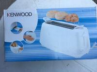 Kenwood toaster (4 slice)