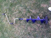 "8"" Ice Auger - Never Used"