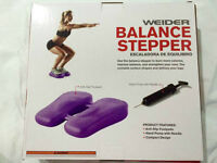 Balance stepper and ankle weights