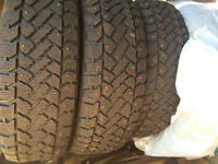 P205/60R15 great winter tires with studs on sale