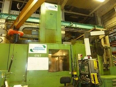 4963 Dorries-scharmann Vce16001255 Cnc Vertical Boring Mill - 27138