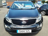 Kia Sportage 2.0 CRDi KX-3 [Sat Nav] (FULL LEATHER+SAT NAV+GLASS ROOF) (