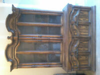 China Cabinet/hutch & Buffet/display cabinet