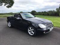 2004 Mercedes SLK 200 Kompressor convertible 'low miles '