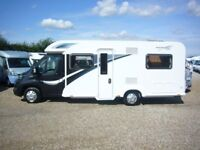 2014 Bailey Approach Autograph 745 4 birth fixed bed motorhome