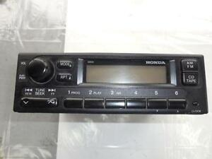 Honda Civic DX Coupe Sedan AM FM Radio 39100-S01-A210-M1