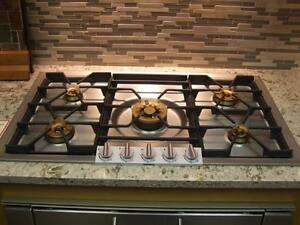 Brand New - Viking Appliances and Gaggenau Gas Cooktop