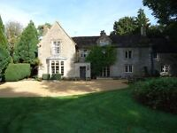 Spacious room to let in a wonderful Cotswold house with en suite large shower and own loo, too !