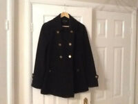 Maternity Coat Black