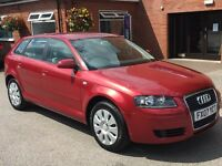 Audi A3 SPECIAL EDITION 8V (red) 2007