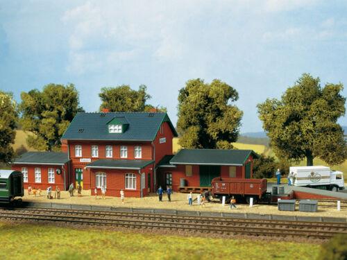 Auhagen 13299 Tt Gauge, Railway Station Klasdorf # New Original Packaging #