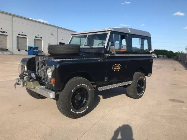 1971 Land Rover Series 2A  1971 Land Rover Series 2A Low Miles Restored In 2008 Look Great Deal Here