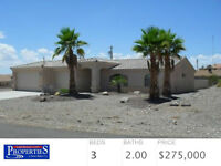 Vacation home in Lake Havasu City, AZ 3 brm 2 ba Large Garage