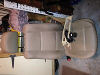BMW E46 1998-2005 LH Front Driver Seat Assembly Beige