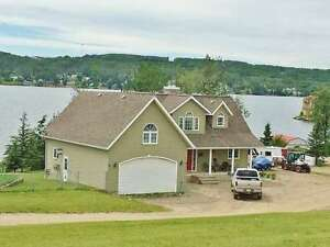 CHARLIE LAKE LAKEFRONT HOME WITH GUEST HOUSE FOR SALE