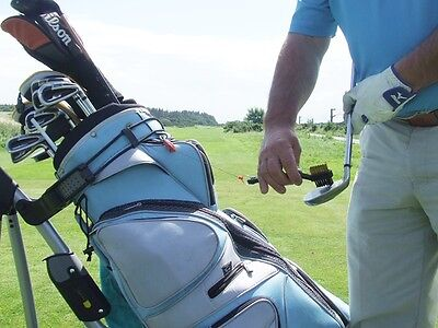 (Deluxe Golf Club Cleaning Brush with Metal Retractable Reel )