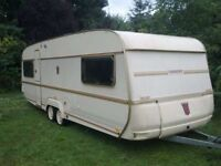 Tabbert Comtesse 620 caravan + Dorema President awning + Isabella porch awning £1499 without awnings