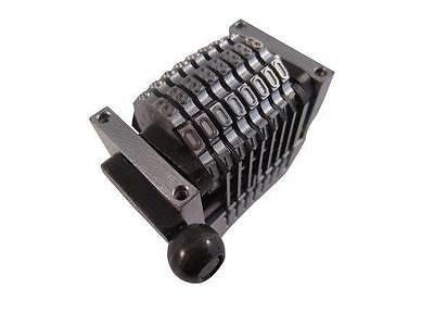 Numbering Machine 8 Digit Convex Backward For Multilith Ryobi Offset Press