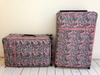 3x PINK ZERO GRAVITY IT SUITCASES BAGS LUGGAGE 1 MEDIUM 2 LARGE