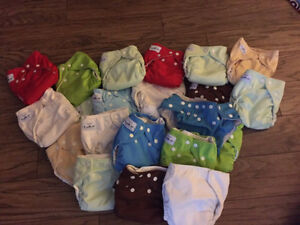 23 fuzzy buns cloth diapers for sale size small