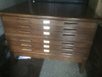 Vintage Architects Drawers by Abbess