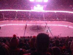 Calgary Flames vs Washington Capitals (Oct 30/2016) Section 212