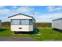 Large 2 bed, 6 berth caravan for rent selsey, chichester