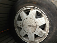 VW White Specialty Rims off a Cabriolet -- 13 inch